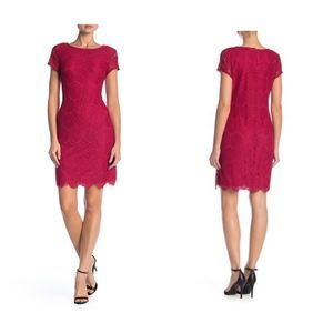Laundry By Shelli Segal NWT Scallop Lace Dress 10